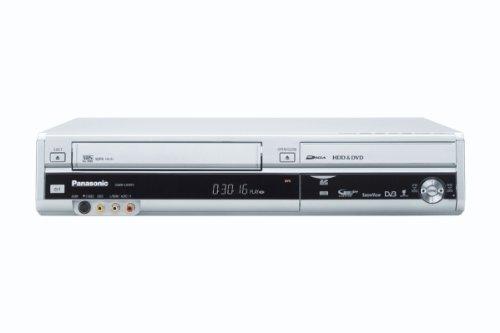 Panasonic DMR-EX99VEGS DVD- und Festplatten-Rekorder / VHS-Rekorder Kombination 250 GB (HDMI, Upscaler 1080p, DivX-zertifiziert, USB 2.0) mit integriertem DVB-T & analog Kombi Tuner silber - Dvd-vhs-player Panasonic