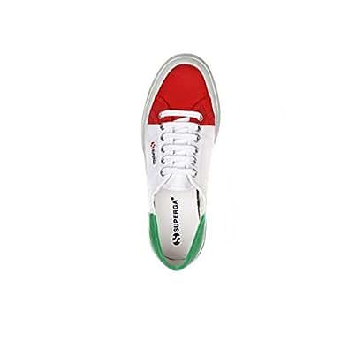 Sneakers Chaussures SUPERGA 2750 COTU drapeau Italie unisexe Printemps été automne hiver