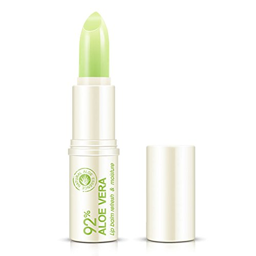 Oshide Lippenpflege mit Aloe vera Lip Balm Feuchtigkeitsspendender Lippen-Pflegestift 4g