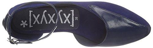 Xyxyx Sandale, Ballerines femme Bleu - Bleu marine