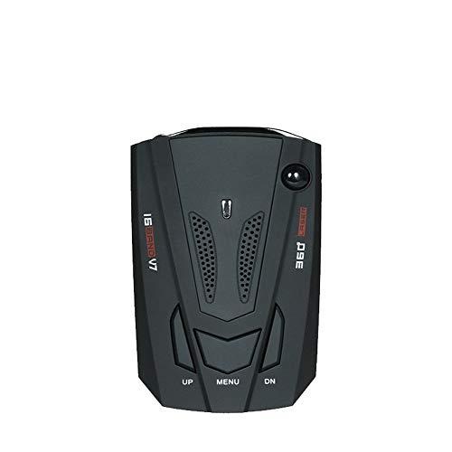 Auto Radar Velocidad Cuchillo Lazer 360 ° Voice Alert Velocidad móvil Velocímetro electrónico Perro,Detector de cámara de velocidad, sistema de alarma por voz y GPS para automóvil / radar / láser, mod