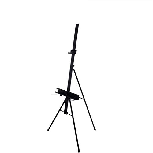 XHHWZB Kunst-Staffelei-Segeltuch-Staffelei-Stand 130cm-180cm, für Innen- / Malerei im Freien, Bild/Plakat / a1 a2 a3 Canvas-Anzeige (Kinder-kunst-tisch Mit Ablage)