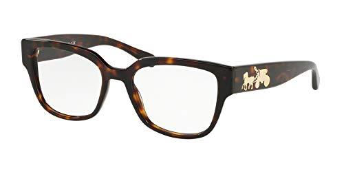 Coach EyegGlasses HC 6126 5417 DARK TORT