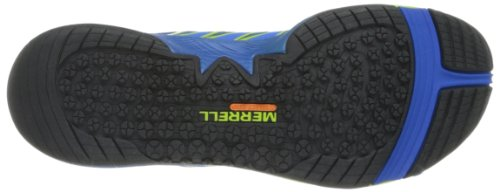 Merrell Allout Fuse, Chaussures Multisport Outdoor Homme Bleu (Blue/Lime)