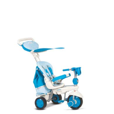 TRICICLO SMART TRIKE SPLASH TURCHESE 5IN1