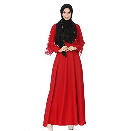 55609524f72c Ginli Vestiti Musulmani Musulmano Maxi Dress Tromba Maniche Abaya Long Robe  Gowns Tunica Abito Arabo Musulmano