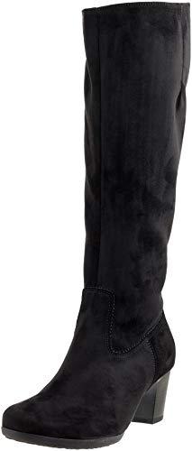 Gabor Shoes Damen Casual Hohe Stiefel, Schwarz 47, 40 EU Casual Stiefel