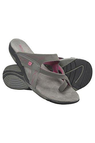 Mountain Warehouse Shore Sandalen für Damen - Sommerschuhe, Neoprenfutter, strapazierfähig, leicht, Damenschuhe, flexibel, tragefreundlich - Für Frühling, Spaziergänge Grau 41 EU