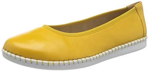Caprice Inna, Bailarinas para Mujer, Amarillo Sunflower Soft 620, 42 EU