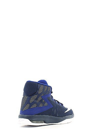 Nike Air Devosion (Gs), espadrilles de basket-ball homme Azul (Midnight Navy / White-Deep Royal Blue)