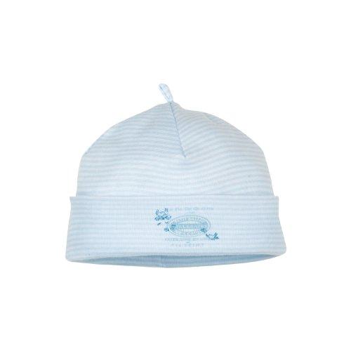 e9a0e847f2bc Petit Bateau - 6463749000 - Bonnet Naissance - Bleu (Simple Ecume) - Mixte