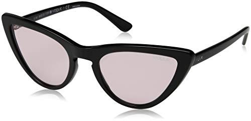 Vogue Eyewear Damen 0VO5211S W44/5 54 Sonnenbrille, Schwarz (Black/Pink),