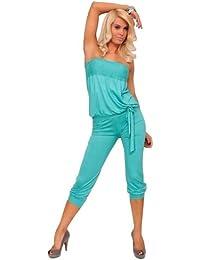 SAMGU Femmes Sexy Bandeau Jumpsuit Salopette Clubwear Playsuit Combinaison-pantalon