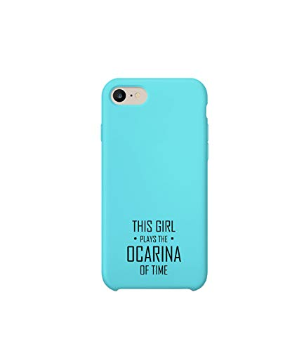 GlamourLab Legend of Zelda Girl Plays Ocarina of Time Quote_R2839 Protective Phone Case Cover Handyhulle Handyhülle Schutz Hülle Kompatibel mit iPhone 7 Plus Lustig Gift Christmas Birthday Novelty