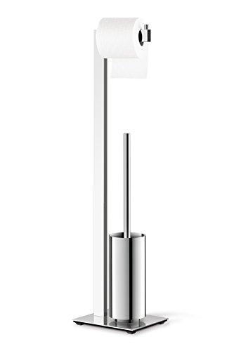 Zack Linea Toilet Butler 40027–High-Gloss Stainless Steel