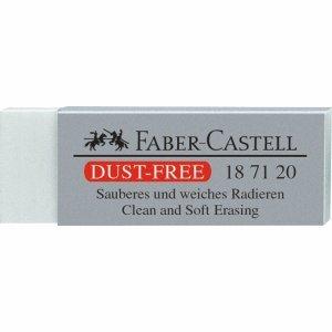 Preisvergleich Produktbild Faber Castell Radiergummi Dust Free 62x22x12mm für Bleistifte