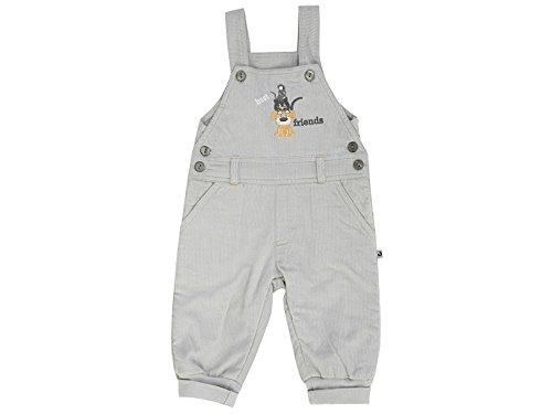 JACKY Baby Jungen Serie BEST FRIENDS Strampler Pullover Latzhose Bodies Sets Overall Schlafsäcke (74, Cord-Latzhose)