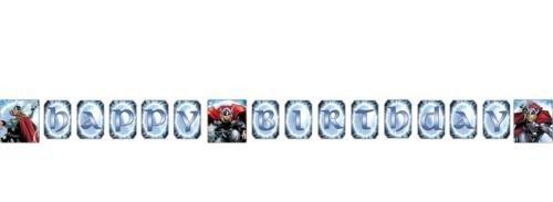 Thor 8.5ft Happy Birthday Banner
