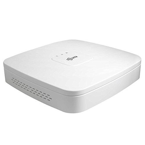 GOLIATH 4 Kanal NVR, Full-HD Netzwerk Video Rekorder, IP Aufnahme-Gerät, ONVIF, Fern-Zugriff, Handy App (überwachung Kamera Rekorder)
