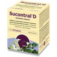 SUCONTRAL D Diabetiker Kapseln, 20 St