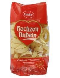Zabler Hochzeits Nudeln Extrabreite Nudelnester 500 g
