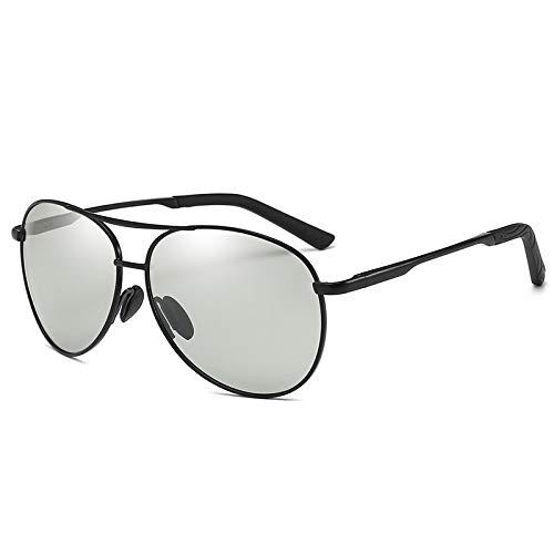 Yangjing-hl Brille Brille Brille hochwertig Fahren Angeln Sonnenbrille Fahren Brille schwarz Rahmen Farbfilm