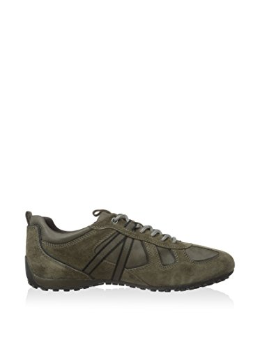 Geox U Snake Y, Chaussures Homme Taupe / Gris