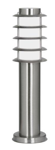 Oaks Lighting 112/450 SS Altay - Lampione in acciaio INOX con diffusore in policarbonato opaco