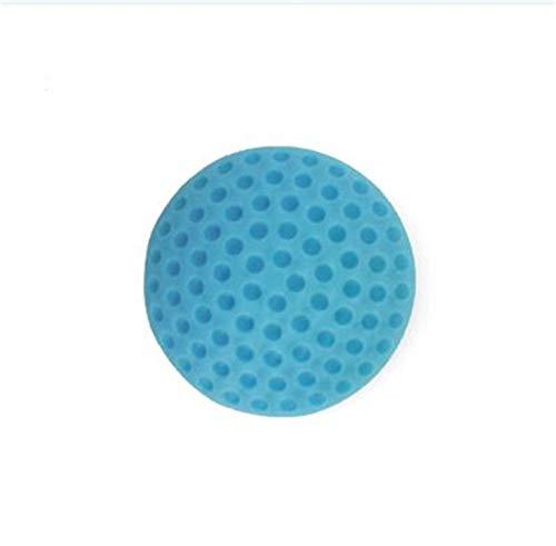 Verschluss Türstopper Silikon-Wandschutz Selbstklebender Griff Knopf Stoßstangenschutz Stopper Gummi Türstopper Geeignet für bestimmte Geräte (Color : Blau) -
