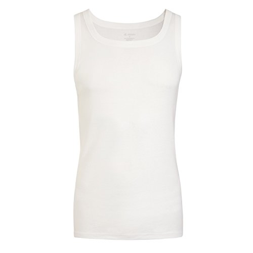 Jockey Modern Luxury Cotton Sleeveless Shirt 2er Pack Weiß