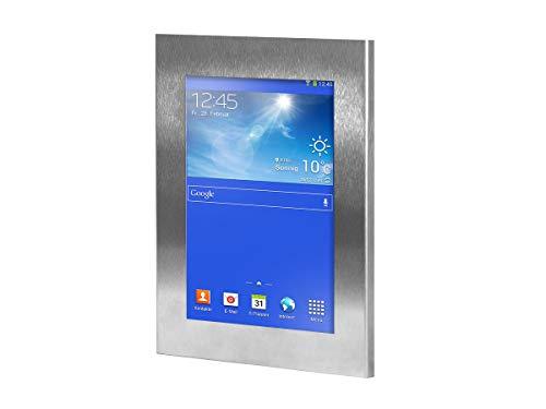 TabLines TSG007E Tablet Schutzgehäuse für Samsung Galaxy Tab 3 7 Zoll, edelstahl