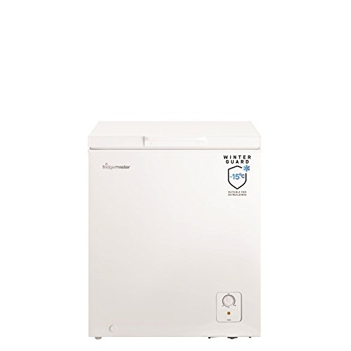 31pn%2BNJ7EJL. SS500  - Fridgemaster MCF139 69.7cm Wide 139 Litre Chest Freezer - White