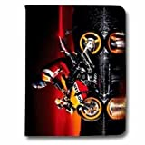 Leather flip case Ipad Pro 9.7 Moto - - phare N