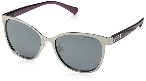Ralph Lauren Ralph by Damen 0RA4118 32006G 54 Sonnenbrille, Purple/Silver Flash Solid