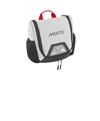 Musto Evolution Wash Bag - Platinum PLATINIUM