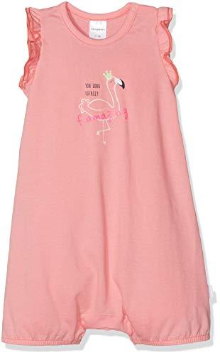 Schiesser Mädchen Baby Spieler 0/0 Zweiteiliger Schlafanzug, Gelb (Apricot 603), 86 (Herstellergröße: 086) -