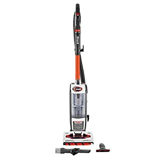 Shark Upright Vacuum Cleaner [NV801UK] Powered Lift-Away, Powerful, White and Charcoal Grey