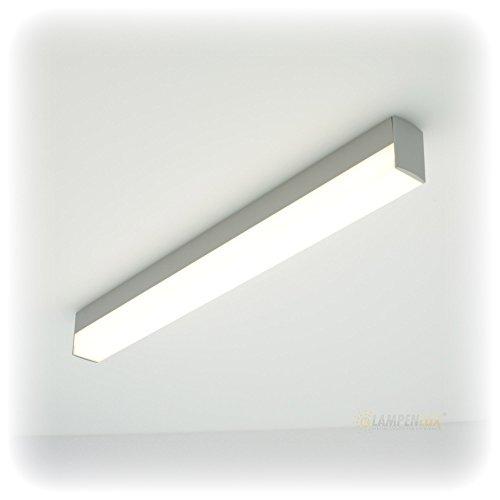 LED Wandlampe Wandleuchte Aaron Badlicht Grau 12W 54cm inkl. LM Unterbaulampe