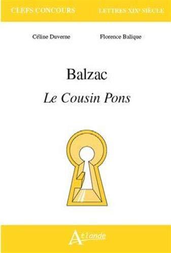 Balzac : Le cousin Pons