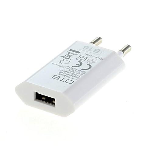 bg-akku24 USB Ladegerät Netzteil für JBL Flip 2 / JBL Flip 3 / JBL Flip 4