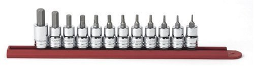 Kd Bit-set (GearWrench 80581 12-teiliges 3/8-Antrieb Sae Hex Bit Socket Set)