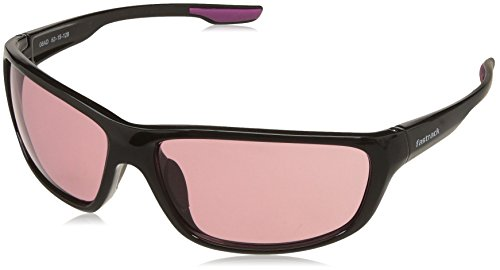 Fastrack UV Protected Sport Women's Sunglasses - (P398PK2F|63|Red Color) image