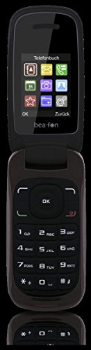 Preisvergleich Produktbild Beafon C200_EU001DS Mobiltelefon (Dual SIM,  TFT Farbdisplay,  QVGA Kamera,  Bluetooth,  4, 5 cm (1, 77 Zoll Dark Chocolate