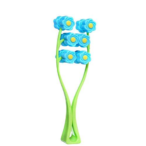 1Pcs Blume Typ Elastic Gesichtsmassager-Gesichts-Lift Massage Roller