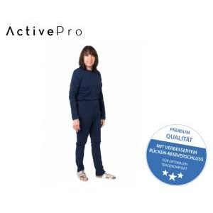 Pflegeoverall für Frauen und Männer; relax lang mit Rückenreißverschluss; Demenz Overall; ActivePro
