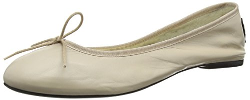 French Sole Ballet di base, da donna Ballet Flats, Beige (Beige (Nude Leather)), 43