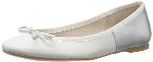 Jonak 68, Damen Ballerinas Weiß - Blanc (Latte/Argent)