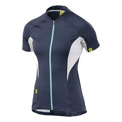 Mavic Meadow Damen Fahrrad Trikot kurz blau/weiß 2015: Größe: M (38/40)