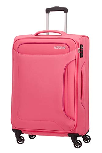 American Tourister Holiday Heat - Spinner Maleta, 67 cm, 66 l, Rosa...