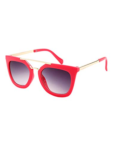 besbomig Kinder Sonnenbrille Klassiches Retro Brillen - UV400 Schutz Sportbrille Party Favors Geschenk Sunglasses für Jungen und Mädchen Alter 6-12